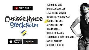 <b>Chrissie Hynde</b> - <b>Stockholm</b> (Album Sampler) - YouTube