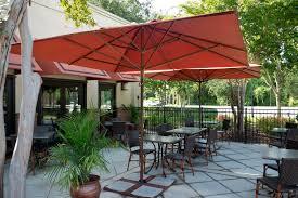 crossman piece outdoor bistro: red patio umbrellas walmart with tile floor and dining set for chic patio decoration ideas