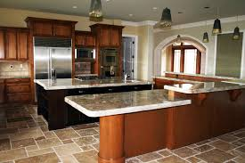 kitchen varnished cabinet