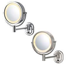 Jerdon® <b>8</b>-<b>Inch</b> Round Lighted <b>Wall Mount</b> Mirror | Bed Bath & Beyond