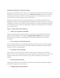 awesome resume objectives template awesome resume objectives