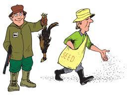 Afbeeldingsresultaat voor jagers en boeren