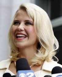 This May 25, 2011 file photo shows Elizabeth Smart talking to the media in front - Elizabeth%2520Smart%2520Marri_Hugh