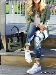 Образы с <b>джинсами бойфрендами</b> часть 1 / модный лук с ...