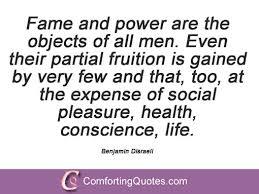 Famous Benjamin Disraeli Quotes | ComfortingQuotes.com via Relatably.com