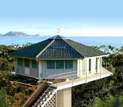 Hawaiian homes  Home and Exposed rafters on PinterestBeachfront homes  stilt houses  amp  pedestal homes  Stilt homes on pilings  storm resistant coastal homes  Building oceanfront homes from Florida to Maine and