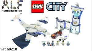 <b>Lego City 60210</b> Sky <b>Police</b> Air Base Speed Build - YouTube