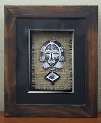 loading ica home image is loading tribal ancestors african ceremonial mask shadow box i