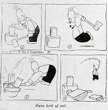 Was <b>Homer</b> Simpson stolen from this Vintage <b>Cartoon</b> ca.1949?