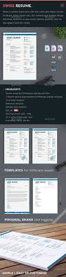 52 best resume templates word psd indd swiss resume template in psd indesign and ms