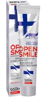 TOLK <b>Зубная паста</b> Traditions Of Finland <b>Open Smile</b> ...