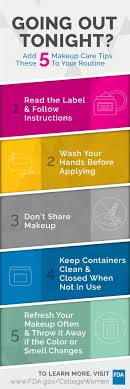 take time to care program > college women s health pin makeup care tips 2 587 kb