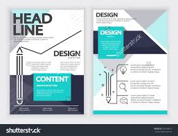 report flyer brochure vector design template stock vector report flyer brochure vector design template layout design a4 paper design template