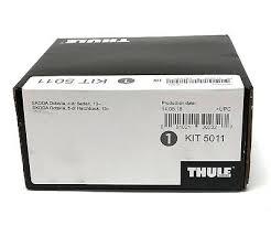 <b>Thule</b> Evo Fitting <b>Kit</b> 5011 <b>Skoda</b> Octavia Without Pre-Existing Roof ...