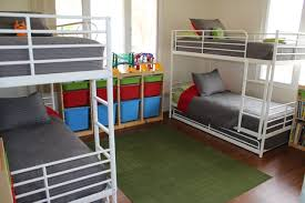 Kids Bedroom Beds How To Fit 6 Kids In One Room On A Budget
