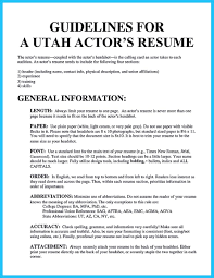 cool learning to write an audition resume resume template cool learning to write an audition resume