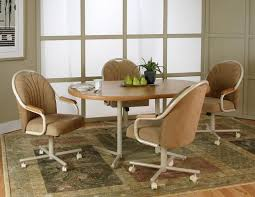 Dining Room Chairs With Casters And Arms The Importance Of Dining Room Chairs With Arms Vogue Vibe Home