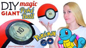 DIY GIANT Magic <b>Poke Ball</b> – How To Make Big Magic 8-Ball In ...