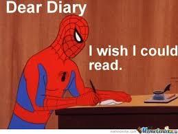 Dear Diary.... by darkwars01 - Meme Center via Relatably.com