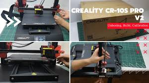 <b>Creality CR-10s Pro V2</b> | Unboxing, Build, Calibration and First Print ...