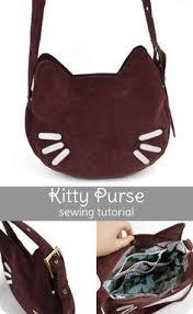 Sewing: лучшие изображения (33)   Выкройки, Кошка сумка и ...