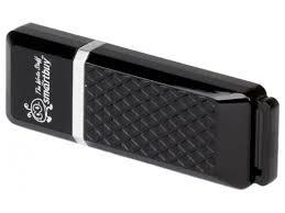 Купить usb-<b>флешку SmartBuy</b> Quartz <b>64GB</b> (SB64GBQZ-K) по ...