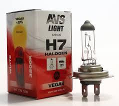 <b>Лампа</b> галогенная <b>AVS Vegas H7</b>.12V.55W (1 шт.) оптом от ...
