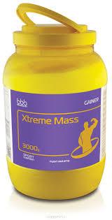 """<b>Гейнер bbb</b> """"<b>Xtreme Mass</b> Gainer"""", клубника, 3 кг — купить в ..."""