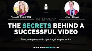 interviews archives mihai herman sap009 the secrets behind a successful branding video tamara thompson · interviews