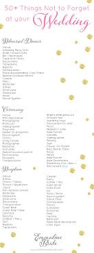 best ideas about wedding planner wedding wedding checklist things not to forget at your wedding wedding day checklist printable