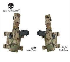 Emerson Drop Leg Holster <b>Tornado Tactical Universal Pistol</b> Thigh ...
