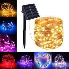 <b>10m 100led solar</b> powered 2 modes fairy string light party christmas ...