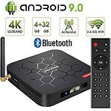 Android 9.0 TV Box, Pendoo X6 PRO Android TV Box ... - Amazon.com