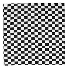 <b>55x55cm White Black Checkered</b> Flag Racing Bandana Unisex ...