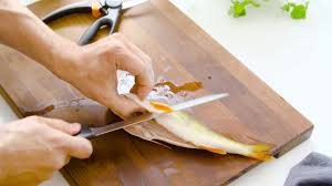 Fiskars <b>Cutting</b> Academy: Prepare <b>fish</b> like a pro - YouTube