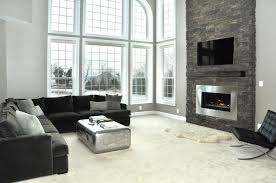 ideas living room breathtaking tv mounting over white custom tv stands and dark gray couch feat black and chrome furniture