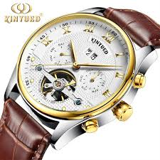 winner men sports watches golden mechanical mens top brand luxury clock automatic skeleton watch relogio masculino