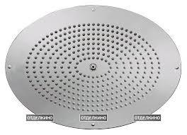 <b>Верхний душ Bossini</b> DREAM - Oval H38460 CR – купить в Москве ...