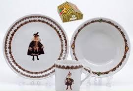 Leander <b>Детский сервиз</b> с кружкой Кукла Орлекино (0.22 л), <b>3</b> пр ...