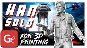Han <b>Solo</b> 3D <b>Printing</b> Figurine | Assembly by Gambody - YouTube
