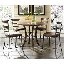 cameron wood metal dining table