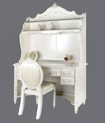 furniture of america cm7226dk cm7226hc cm7226chair alexandra transitional girls pearl white finish desk hutch chair set alexandra furniture