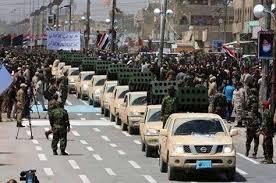 Popular crowd - the entrance of al-Maliki to return to power