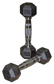 <b>Гантель</b> неразборная Harper Gym NT162 1 кг — купить по ...