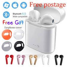 Hot Sale <b>i7 i7s</b> in-ear <b>Bluetooth</b> Earphone Wireless <b>TWS</b> Headset ...