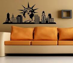 liberty bedroom wall mural: the statue of liberty living room wall decor home decoration wall art vinyl decal sticker bedroom
