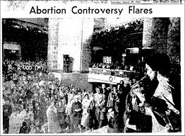 abortion in the s thirdsight history controversy flares 1969