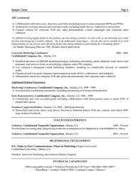 marketing coordinator resume s coordinator lewesmr