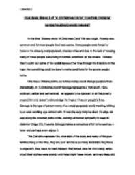 how does stave  of a christmas carol illustrate dickens concerns  page  zoom in