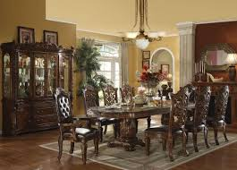 Formal Dining Room Decor Elegant Formal Dining Room Furniture Dark Cherry Finish Vendome